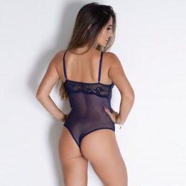 Body Sexy Paris Renda e  Tule