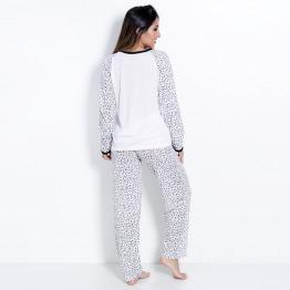 Pijama Feminino Inverno Longo Mimo