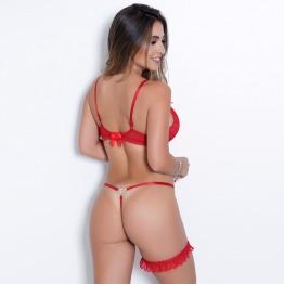 Conjunto Sexy Biju Borboleta