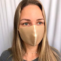 Máscara de Rosto em Tecido Reutilizável