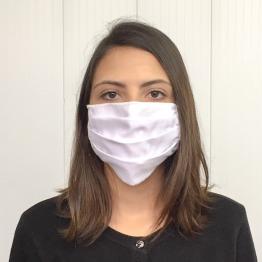 Máscara em Tricoline Dupla 100% Algodão