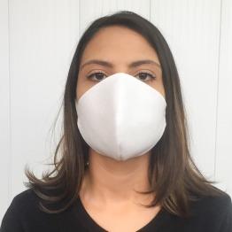 M�scara de Prote��o Camada Dupla/ Respirador Modelo N95 PFF2