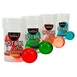 Hot Ball Plus Esquenta Esfria 2 unidades