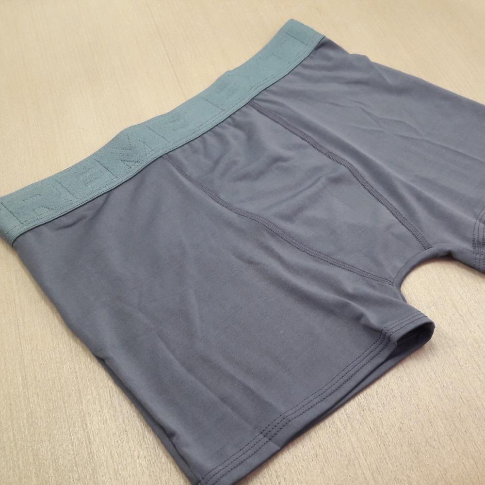 Cueca Boxer Masculina Microfibra Lisa