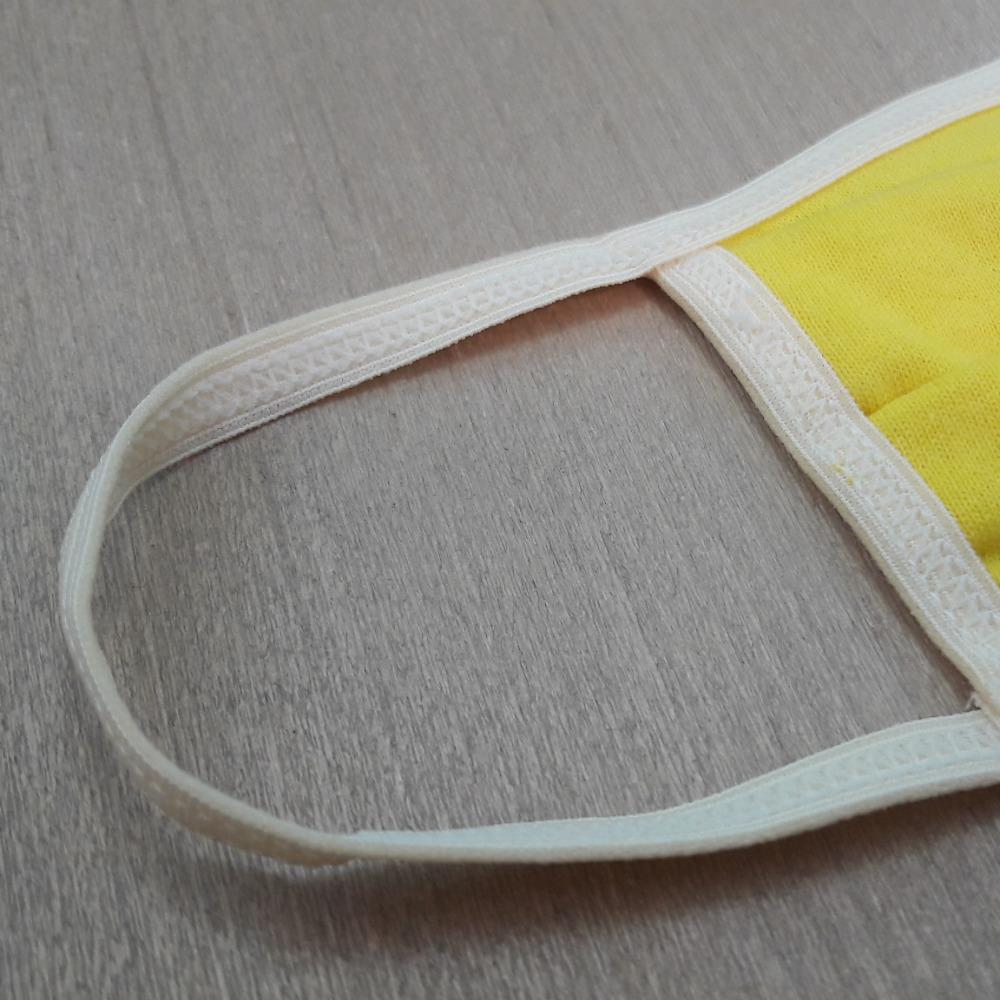 Kit com 3 M�scaras Dupla de Algod�o Modelo Cir�rgico Lisa