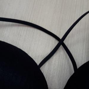 Conjunto Strappy em Microfibra e Renda