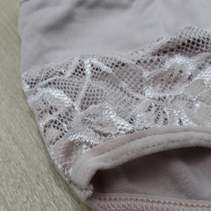Calçola Plus Size em Microfibra Detalhe Renda