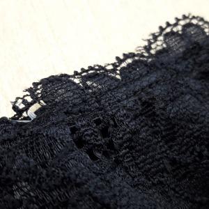 Tanga String Microfibra e Renda