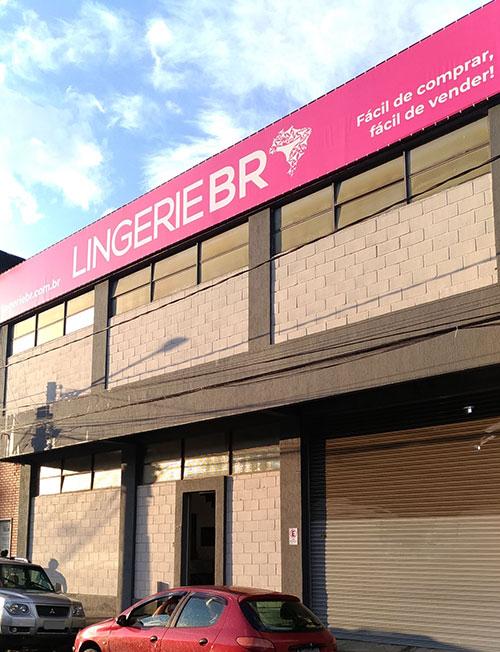 Fachada Sede Lingerie BR no bairro Ypu Nova Friburgo RJ