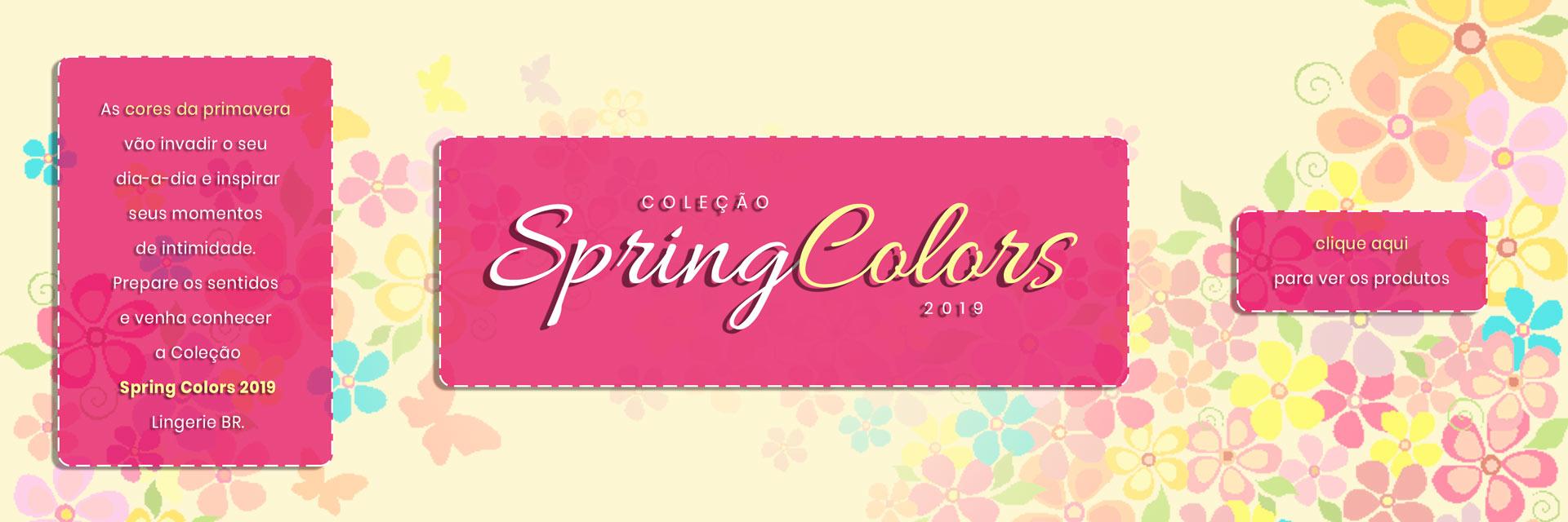 Coleção de Primavera - Floresça