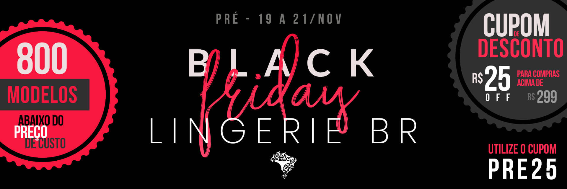Black Friday 2018 | 2 - Pré