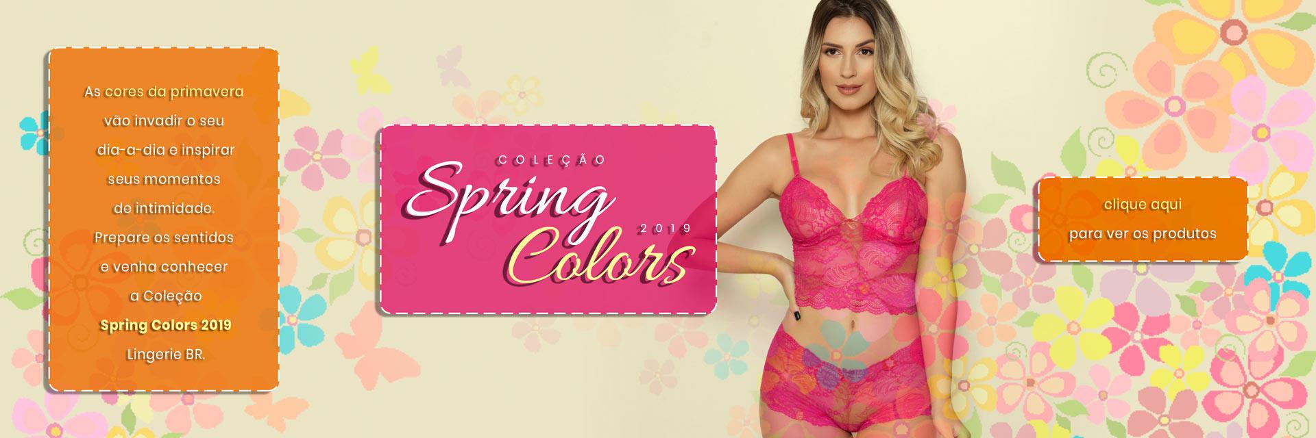 Coleção Spring Colors