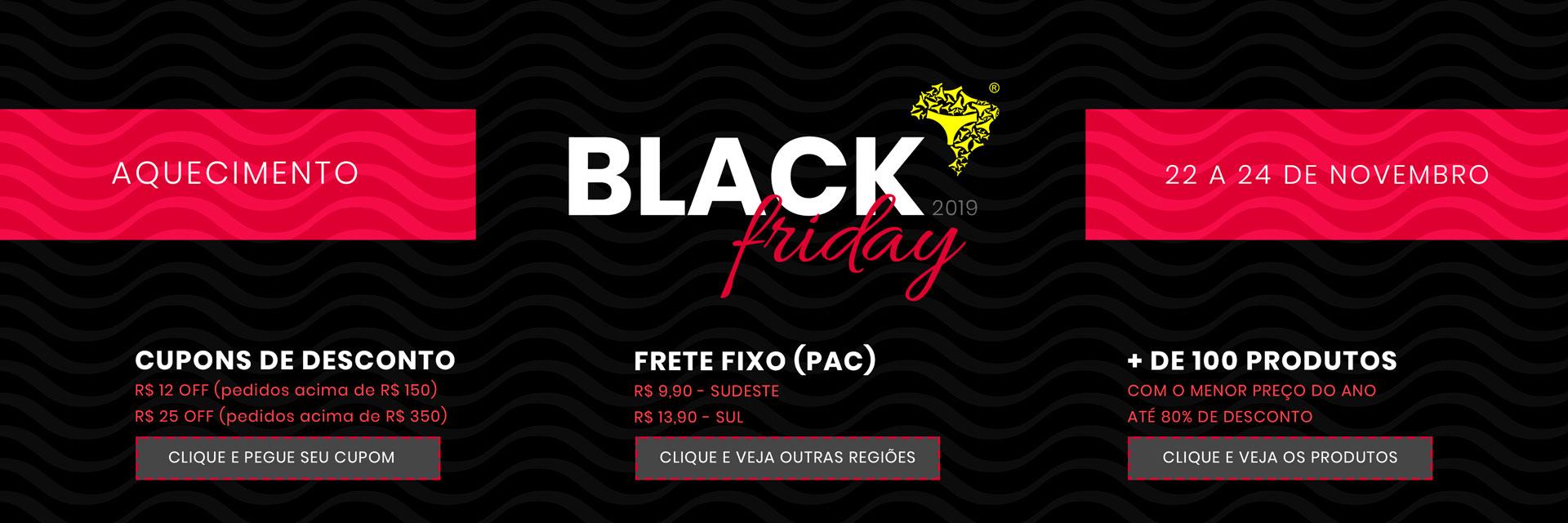 Black Friday 2019 - Aquecimento