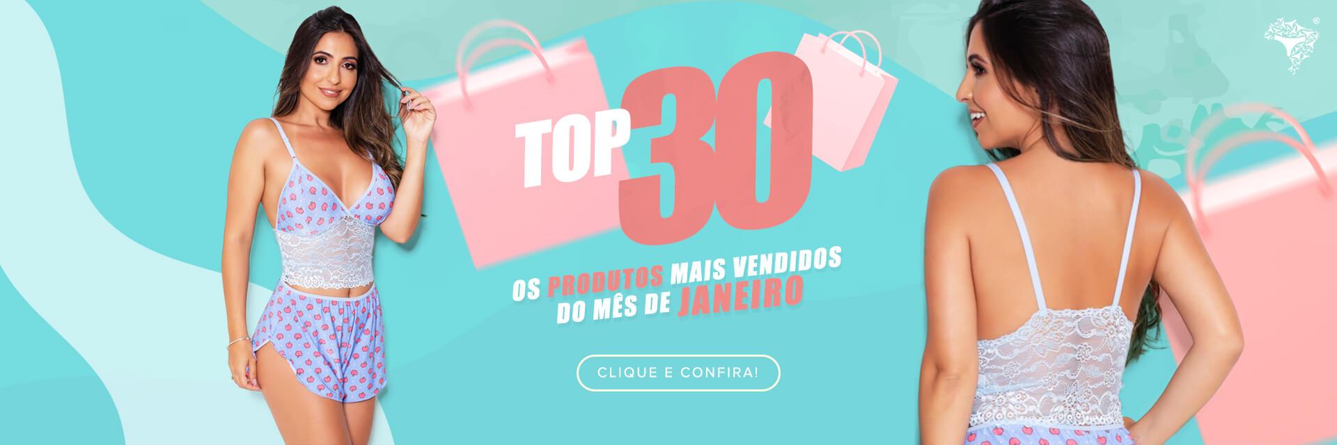 Top 30 Mais Vendidos Jan 2021